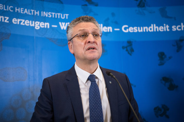 RKI boss urges Germans not to travel over Christmas as Covid-19 cases keep rising