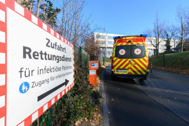 Germany sees record number of deaths from Covid-19 in 24 hours
