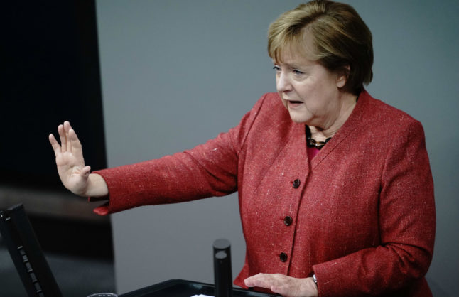 Merkel makes emotional plea for tougher curbs as Covid-19 deaths in Germany break record