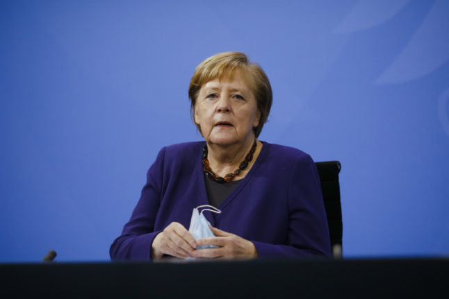 Germany's partial lockdown extended until January 10th