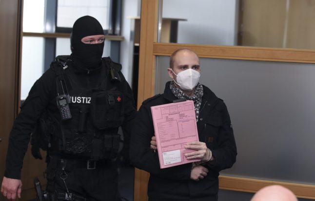 German man jailed for life over deadly anti-Semitic rampage