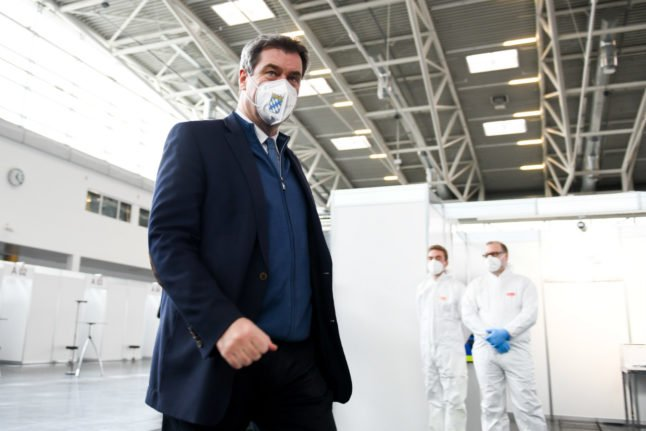 Bavaria orders compulsory Covid-19 testing for all travellers from 'risk zones'