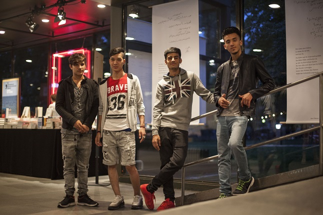 'The Poetry Project': How young refugees in Germany are bridging the cultural gap with their voices