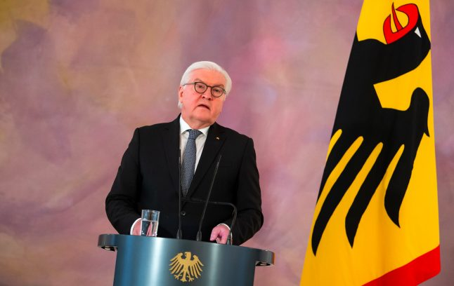 German president urges firms to allow staff to work from home 'whenever possible'
