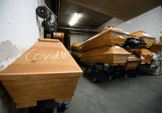 'We're in a state of catastrophe': German crematorium struggles in pandemic
