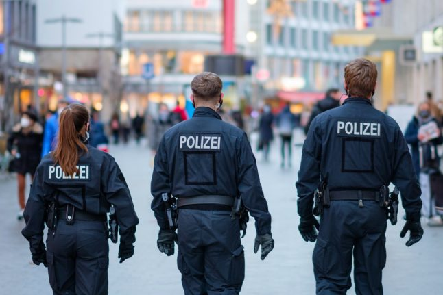 German partygoers break Covid rules and hide from cops in cupboards