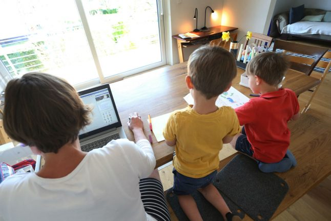 How parents in Germany can take paid time off to care for their children during lockdown