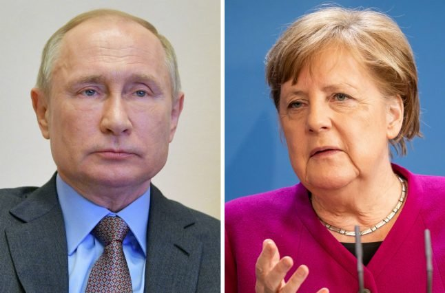 Merkel and Putin discuss possible joint Covid-19 vaccine production