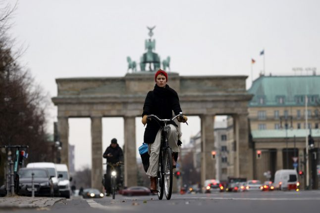 Road rage in Berlin as cyclists clog streets in pandemic