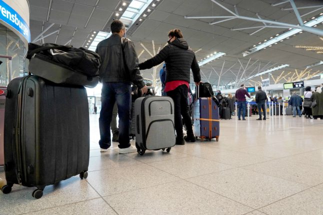 Germany extends travel ban on UK and South African arrivals to January 20th