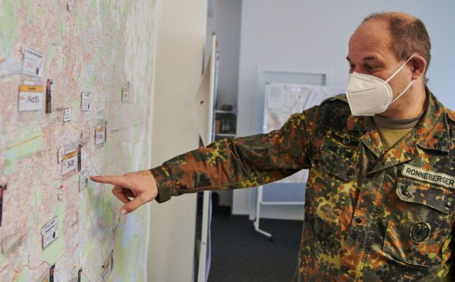 German army offers 10,000 soldiers to help coronavirus fight