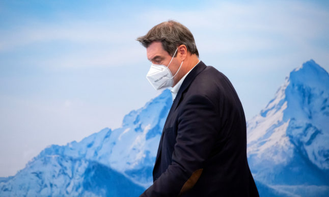 Court suspends 15km rule in Bavaria as Söder warns against relaxing Covid measures