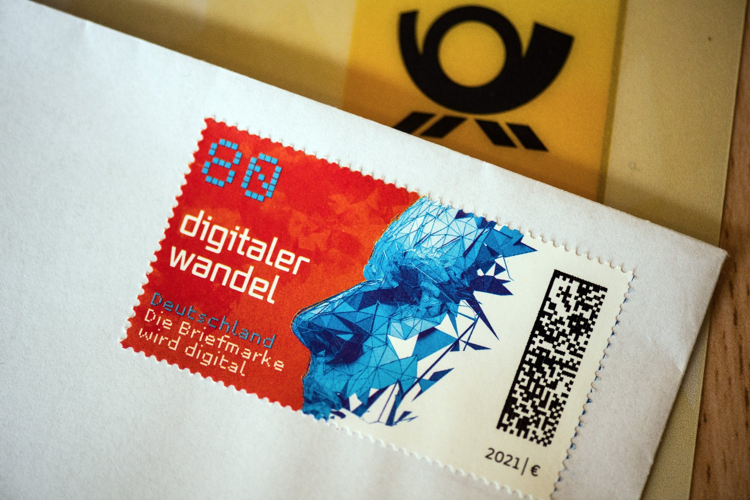 'A new generation of stamps': Deutsche Post rolls out QR-style tracking codes