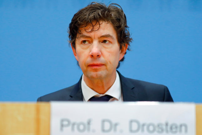 German virologist warns against relaxing Covid-19 measures before vaccine widely available
