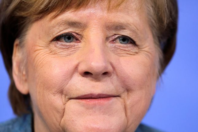 Merkel says 'all vaccines welcome' during rare TV interview