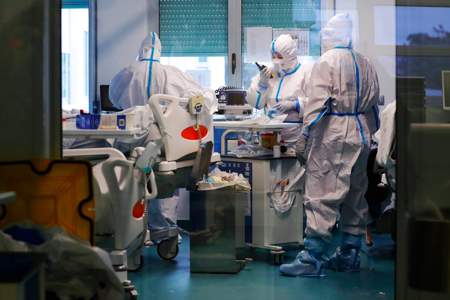 Germany sends ventilators and doctors to hard-hit Portugal