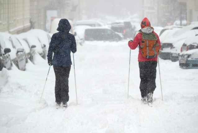 When was Germany's coldest winter?