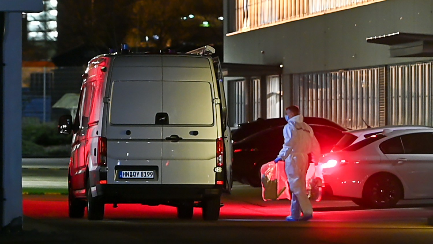 Three injured in explosion at Lidl's German headquarters