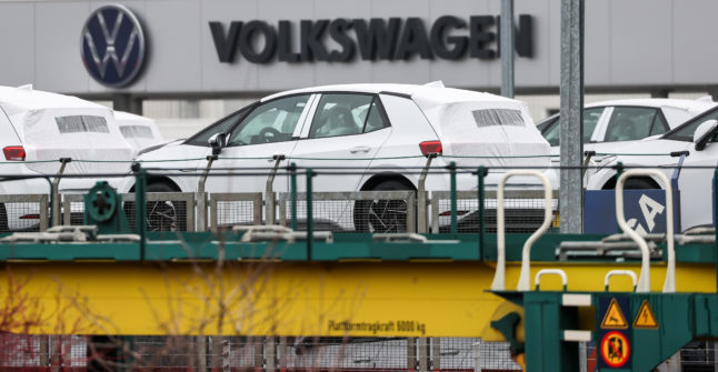 Is Germany's Volkswagen becoming 'the new Tesla' as it ramps up e-vehicle production?
