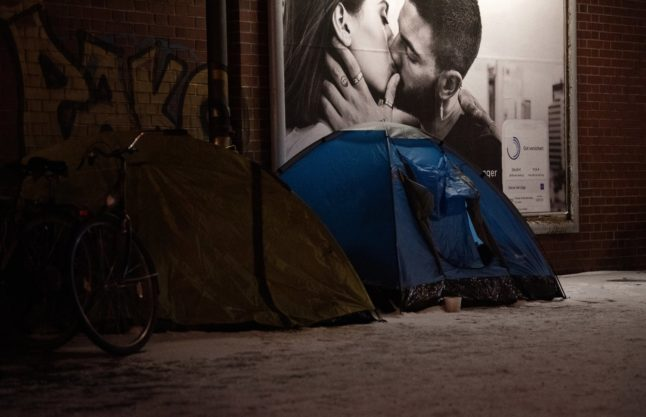 How the pandemic is sharpening the plight of Berlin's homeless women