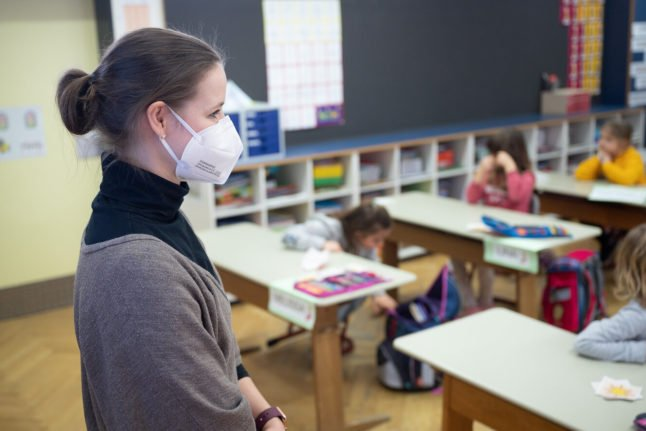 All children in Germany should return to school in March, state ministers agree