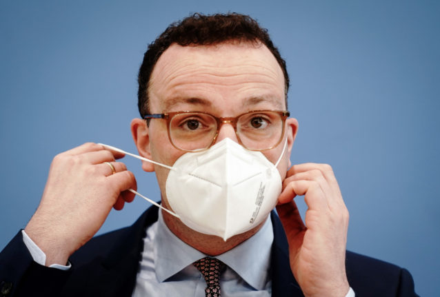 Health Minister calls on Germans to only meet outside amid 'last part of pandemic marathon'