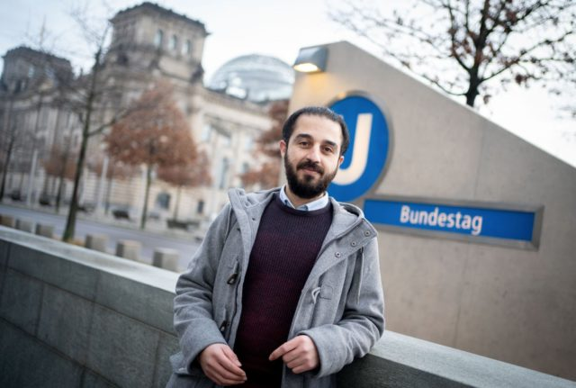 Syrian refugee ends German election campaign over 'racism'