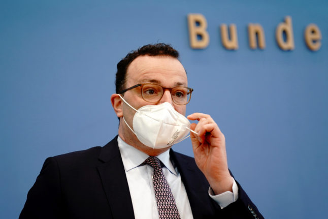 German Health Minister pleads for lockdown 'to break Covid wave'