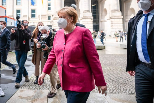 Merkel set to take control as German states dither over Covid spread