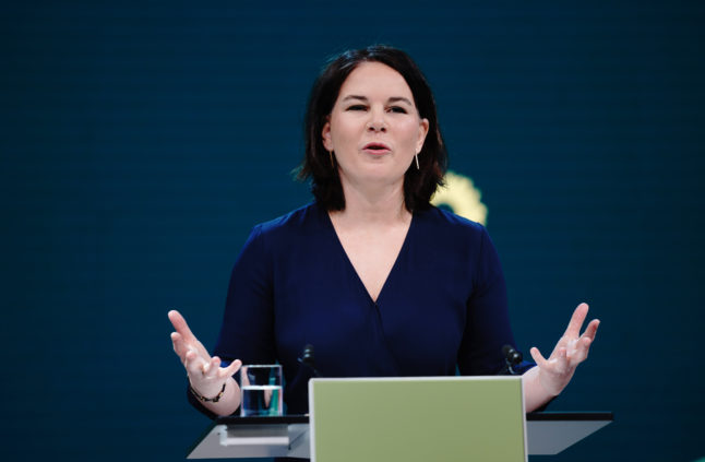 Greens become 'most popular political party' in Germany