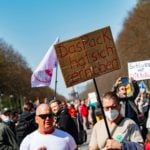 Thousands protest against Germany's plan for nationwide Covid-19 measures