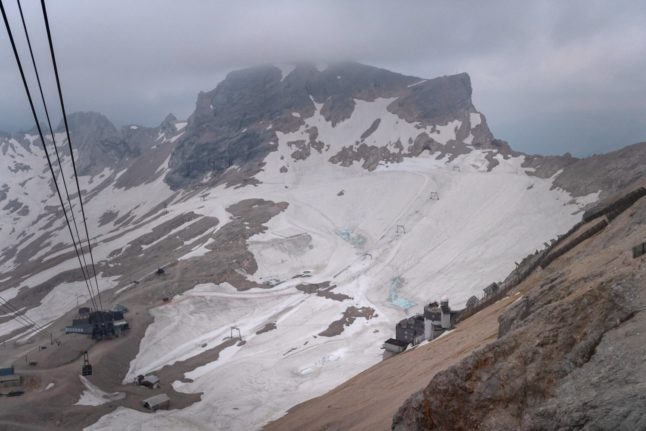 Germany could 'lose last glaciers in 10 years'