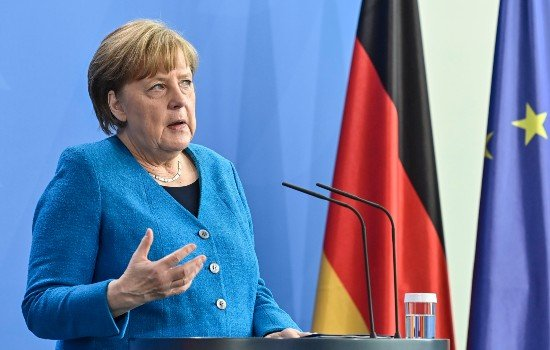 Germany's Merkel urges US to export Covid vaccines