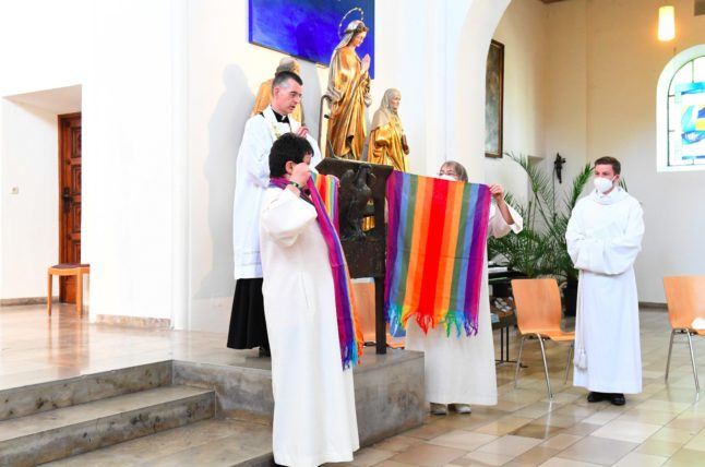 'Sexuality is part of life': German churches bless gay couples in defiance of Vatican