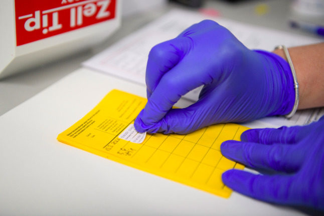 Couple in southern Germany accused of forging Covid vaccination certificates
