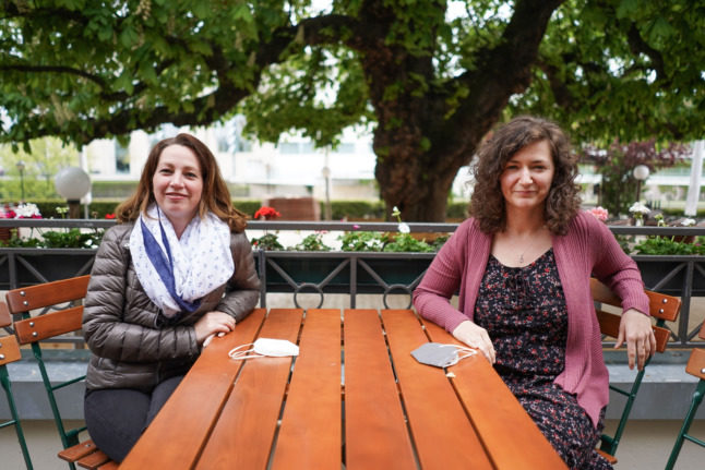 'Feels like we're free again': Berliners enjoy outdoor dining as restrictions ease