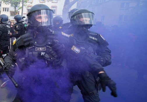 May Day rallies in Berlin and Frankfurt marred by violence
