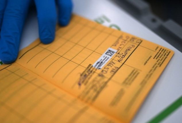 Germany cracks down on fake Covid vaccine documents