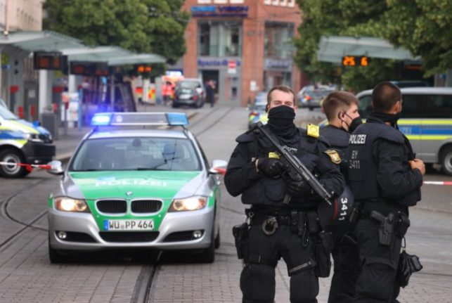 Three people killed in knife attack in German city of Würzburg