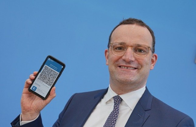 Germany launches new digital Covid health pass