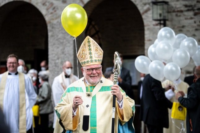 Pope rejects German bishop's offer to quit over abuse scandal