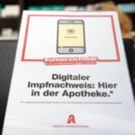 German pharmacies start offering digital vaccination pass again after pause