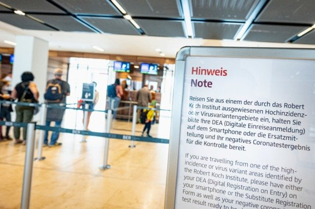Germany lifts ban on travellers from UK, Portugal and India