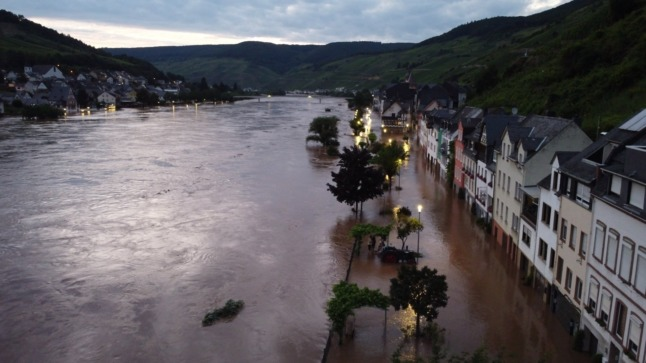 German floods: More than 150 people still missing