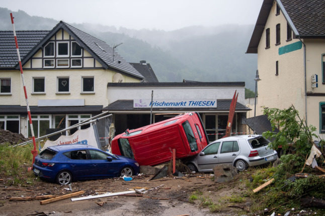 'Like a war zone': Stunned Germans count cost of floods