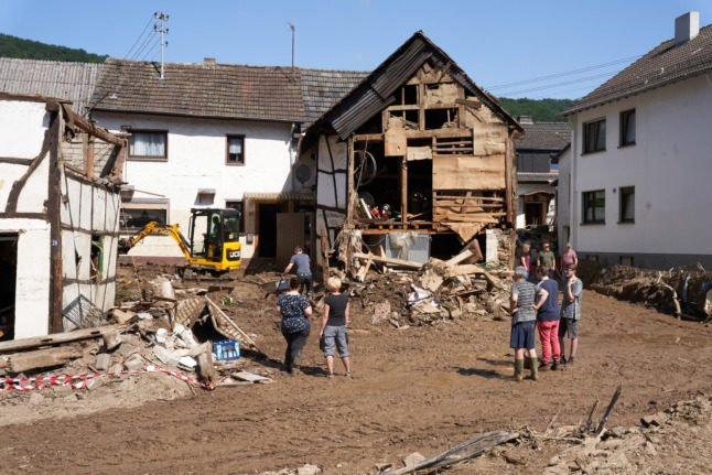 IN PICTURES: The aftermath of Germany's catastrophic floods