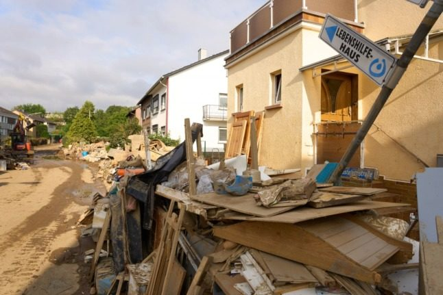 Flood death toll rises to 165 in Germany as search continues