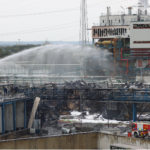 Health fears ease after German chemical park blast