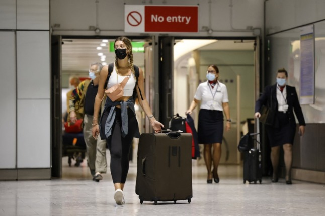 UK adds Germany, Austria and Norway to green travel list