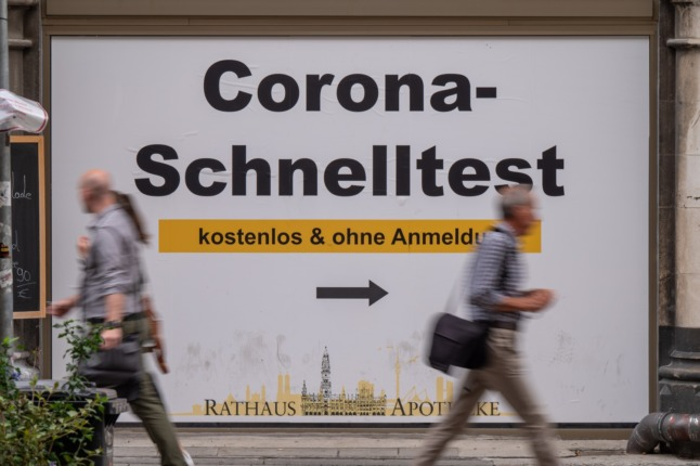 Tell us: What do you think about Germany's plans to charge for Covid tests?